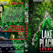 Lake Placid: Legacy (2018) R1 Custom DVD Cover