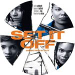 Set It Off (1996) R1 CUSTOM DVD Label