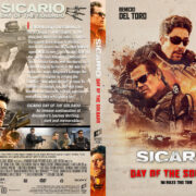Sicario: Day of the Soldado (2018) R1 Custom DVD Covers