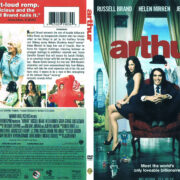 Arthur (2011) R1 SLIM DVD Cover
