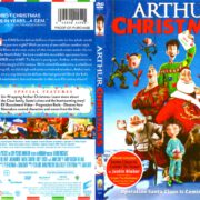 Arthur Christmas (2011) R1 SLIM DVD Cover