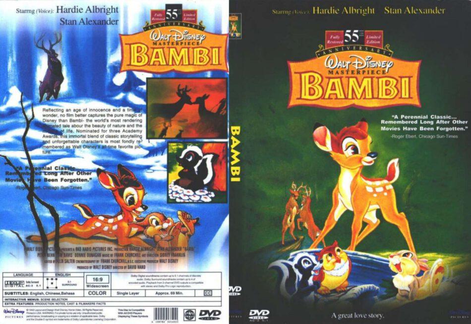 Bambi 1942 R1 Slim Dvd Cover Dvdcover Com