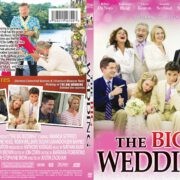 The Big Wedding (2013) R1 SLIM Custom DVD Cover