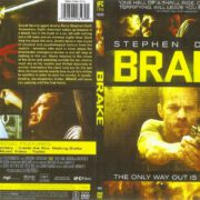 Brake (2012) R1 SLIM DVD Cover
