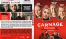Carnage (2012) R1 SLIM DVD Cover