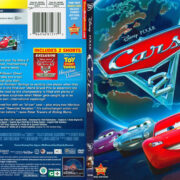 Cars 2 (2011) R1 SLIM DVD Cover