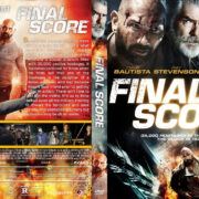 Final Score (2018) R1 Custom DVD Cover
