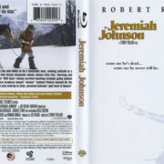 Jeremiah Johnson (1972) R1 Blu-Ray Cover & Label