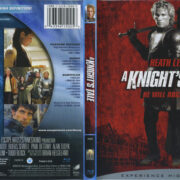 A Knight's Tale (2001) R1 Blu-Ray Cover & Label