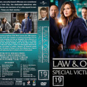Law & Order: Special Victims Unit – Season 19 (2018) R1 Custom DVD Covers & Labels