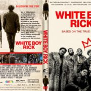 White Boy Rick (2018) R1 CUSTOM DVD Cover & Label