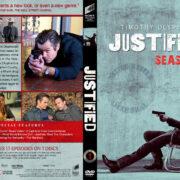 Justified - Season 1 (2010) R1 Custom DVD Cover