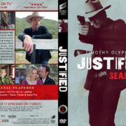 Justified – Season 2 (2011) R1 Custom DVD Cover