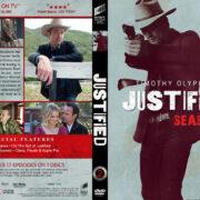 Justified - Season 2 (2011) R1 Custom DVD Cover