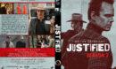 Justified - Season 3 (2012) R1 Custom DVD Cover