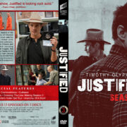 Justified – Season 3 (2012) R1 Custom DVD Cover