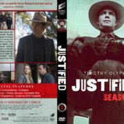 Justified – Season 4 (2013) R1 Custom DVD Cover