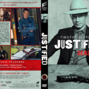 Justified - Season 5 (2014) R1 Custom DVD Cover