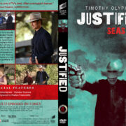Justified - Season 6 (2015) R1 Custom DVD Cover