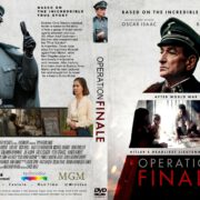 Operation Finale (2018) R1 CUSTOM DVD Cover & Label