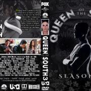 Queen of the South: Season 3 (2018) R0 Custom DVD Cover