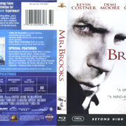 Mr. Brooks (2007) R1 Blu-Ray Cover & Label