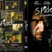 Spider (2002) R0 CUSTOM DVD Cover