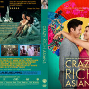 Crazy Rich Asians (2018) R0 Custom DVD Cover