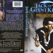 Jack The Giant Killer (1962) R1 DVD Cover & Label