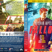 Mission: Impossible – Fallout (2018) R1 Custom Cover v2