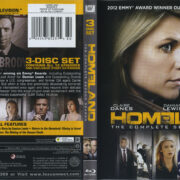 Homeland: The Complete Second Season (2012) R1 Blu-Ray Cover & Labels