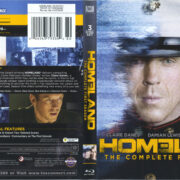 Homeland: The Complete First Season (2011) R1 Blu-Ray Cover & Labels