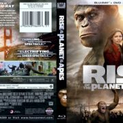 Rise of the Planet of the Apes (2011) Blu-Ray Cover