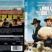 A Million Ways to Die in the West (2014) Unrated R1 Blu-Ray Cover