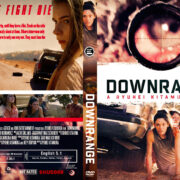 Downrange (2017) R1 Custom DVD Cover