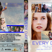 Every Day (2018) R1 Custom DVD Cover