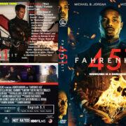 Fahrenheit 451 (2018) R1 Custom DVD Cover
