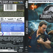 Jurassic World: Fallen Kingdom (2017) R1 4K Blu-Ray Cover & Labels