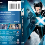 X-Men 2 (2003) Blu-Ray Cover