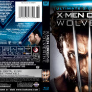 X-Men Origins: Wolverine (2009) Blu-Ray Cover