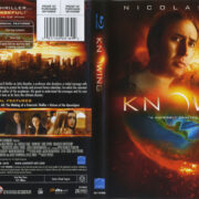 Knowing (2009) Blu-Ray Cover & Label