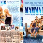 Mamma Mia! Here We Go Again (2018) R1 Custom DVD Cover