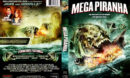 Mega Piranha (2010) R1 DVD Cover & Label