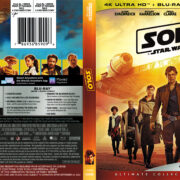Solo: A Star Wars Story (2018) R1 4K Blu-Ray Cover