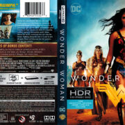 Wonder Woman 4K (2017) R1 4K Blu-Ray Cover