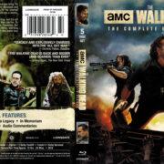 The Walking Dead: Season 8 (2017) R1 Blu-Ray Cover