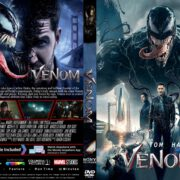Venom (2018) R1 CUSTOM DVD Cover & Label V2