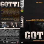 GOTTI (2018) R1 Custom DVD Cover