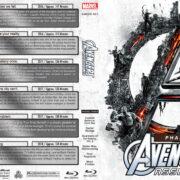 Avengers Assembled - Phase Three (2016-2018) R1 Custom Blu-Ray Covers