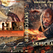 Skyscraper (2018) R1 Custom DVD Cover & Label V2